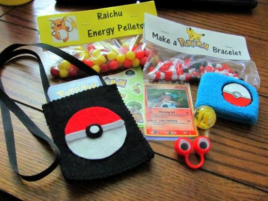 Pokemon Goody Ball Bags