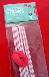 Valentine Lip Straws
